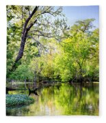 Louisiana Bayou Fleece Blanket
