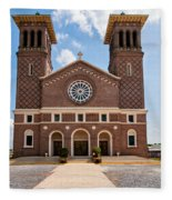 Louisiana Church Fleece Blanket