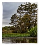 Louisiana Landscape Fleece Blanket