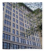 Louisville  Buildings 1 Fleece Blanket