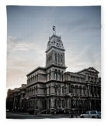 Louisville City Hall Fleece Blanket