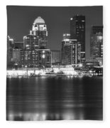 Louisville Kentucky Fleece Blanket