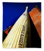 Louisville Slugger Bat Factory Museum Fleece Blanket