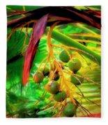 Loulu Palm Fleece Blanket