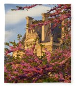 Louvre Blossoms Fleece Blanket