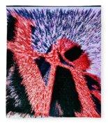 Love Abstract Fleece Blanket