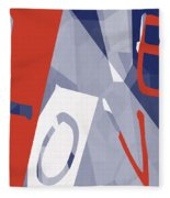 Love Abstract Fleece Blanket