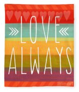 Love Always Fleece Blanket