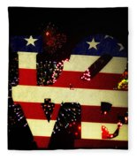 Love American Style Fleece Blanket
