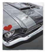 Love At First Sight - '66 Mustang Fleece Blanket