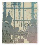 Love At Longwood Fleece Blanket