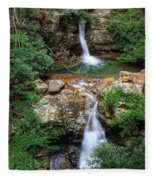 Love At The Blue Hole Fleece Blanket