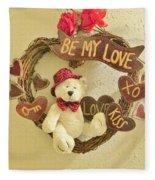 Love Be My Love Fleece Blanket