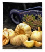 Love For Garlic Fleece Blanket