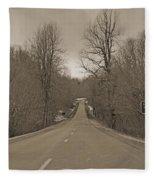 Love Gap Blue Ridge Parkway Fleece Blanket
