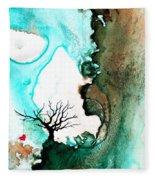 Love Has No Fear - Art By Sharon Cummings Fleece Blanket