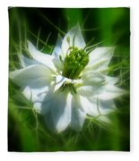 Love In A Mist Fleece Blanket