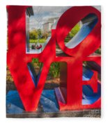 Love In City Park New Orleans Fleece Blanket