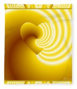 Love In Disguise You Are My Sunshine Fleece Blanket