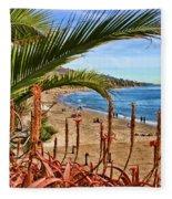 Love In Laguna Beach By Diana Sainz Fleece Blanket