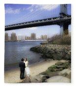 Love In The Afternoon - Dumbo Fleece Blanket