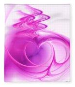 Love In The Details Fleece Blanket