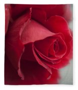 Love Is A Canvas Fleece Blanket