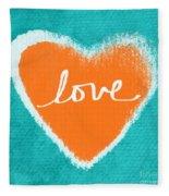 Love Fleece Blanket