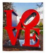 Love New Orleans  Fleece Blanket