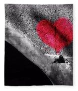 Love Under The Bridge Fleece Blanket