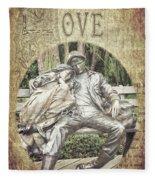 Love Unending Fleece Blanket