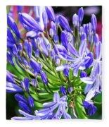 Lovely Lavender Fleece Blanket