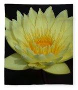 Lovely Lotus Fleece Blanket