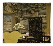 Lovely Room At Winterthur Gardens Fleece Blanket