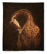 Love's Golden Touch Fleece Blanket