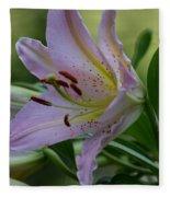 Loving Lilies Fleece Blanket