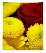 Loving Yellow Fleece Blanket