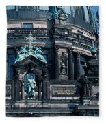 Low Angle View Of A Church, Berliner Fleece Blanket
