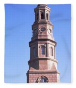 Low Angle View Of A Church, St. Philips Fleece Blanket