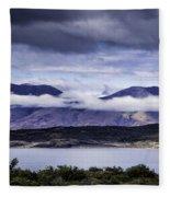 Low Hanging Clouds Fleece Blanket