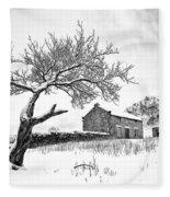 Low Horcum Fleece Blanket