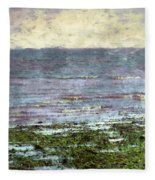 Low Tide At Sunrise Fleece Blanket