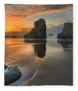 Low Tide Giants Fleece Blanket