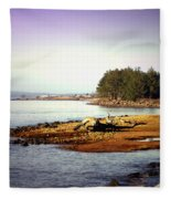 Low Tide Revelations Fleece Blanket