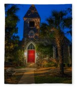 Lowcountry Church Fleece Blanket