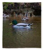 Lowcountry Duck Gathering Fleece Blanket