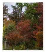 Lowcountry Fall Color Fleece Blanket