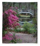 Lowcountry Series II - Ode To Monet Fleece Blanket