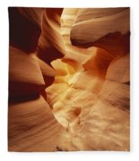 Lower Antelope Canyon, Arizona Fleece Blanket