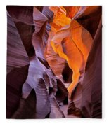 Lower Antelope Glow Fleece Blanket